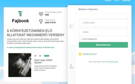 Itt a Fajbook, egy új magyar oldal, állatfotókkal lehet versenyezni rajta